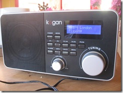 Kogan Internet radio - close-up