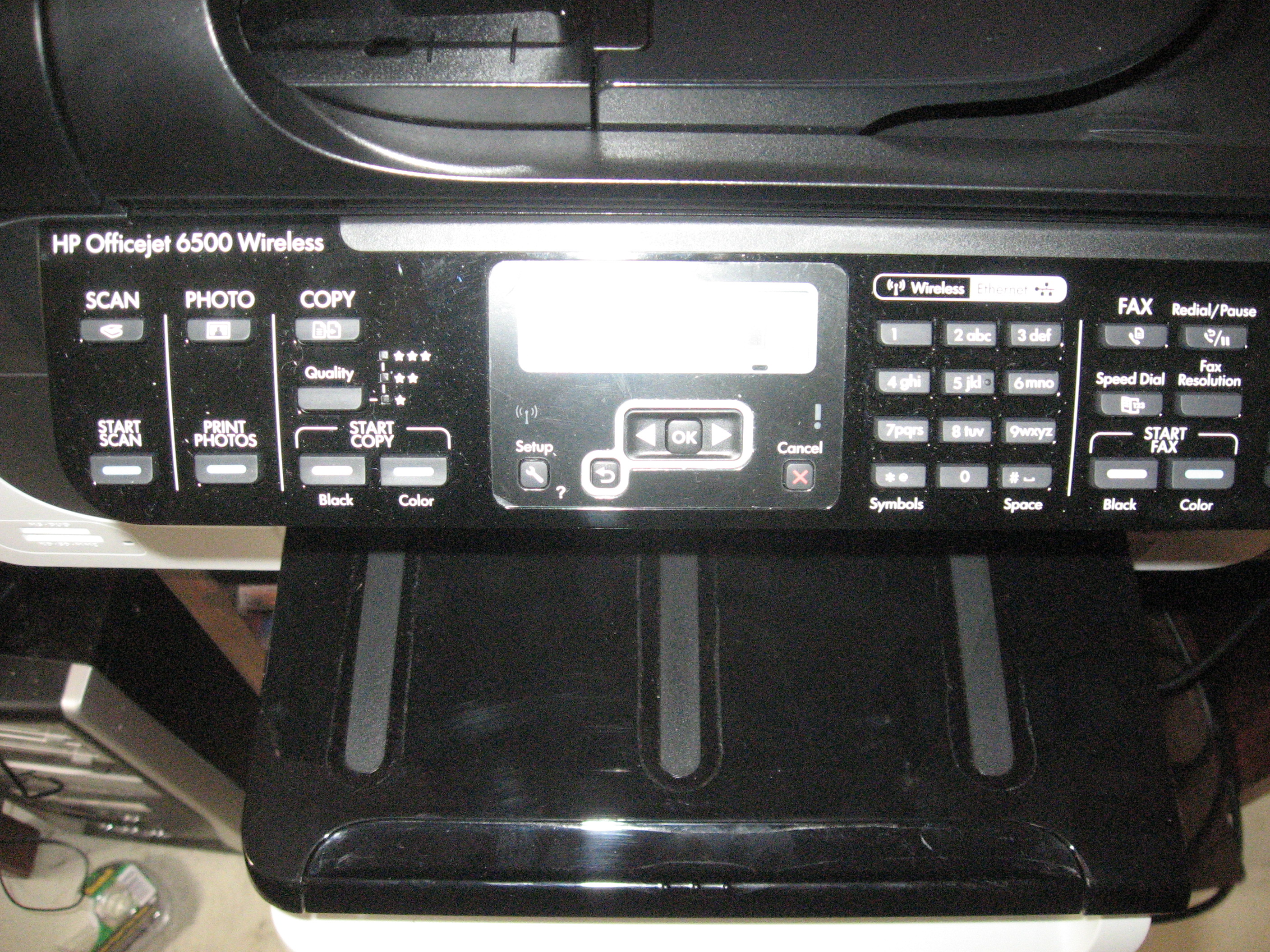 hp officejet 6500a plus wireless setup instructions