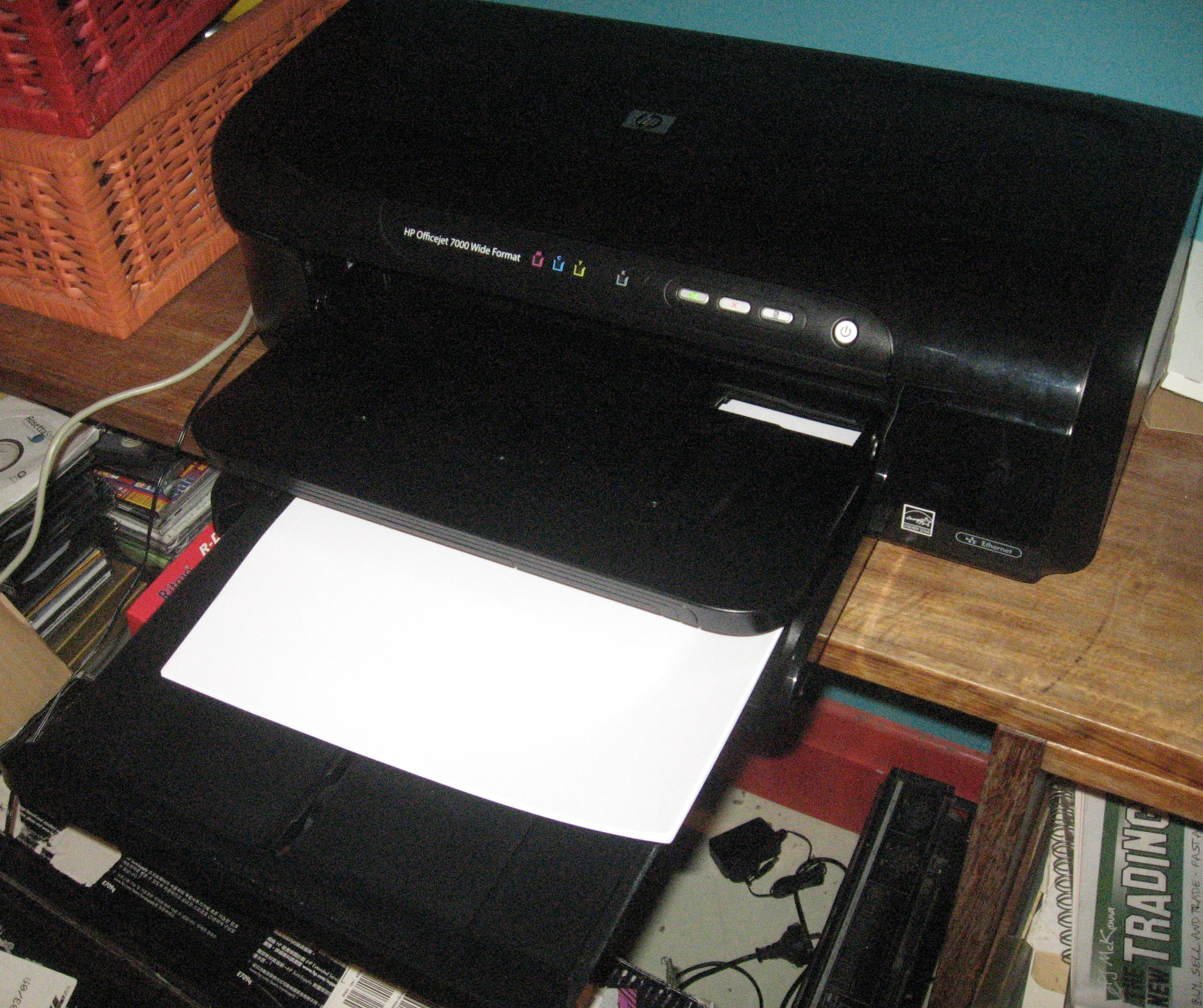 HP OfficeJet 7000 wide-format printer
