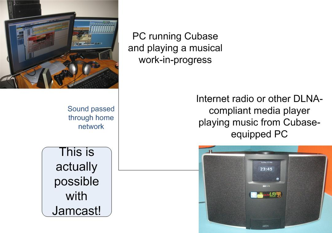 This is what Jamcast can provide