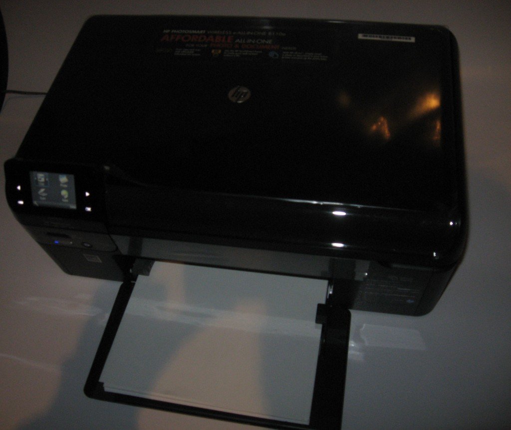 HP Photosmart Wireless-E all-in-one printer