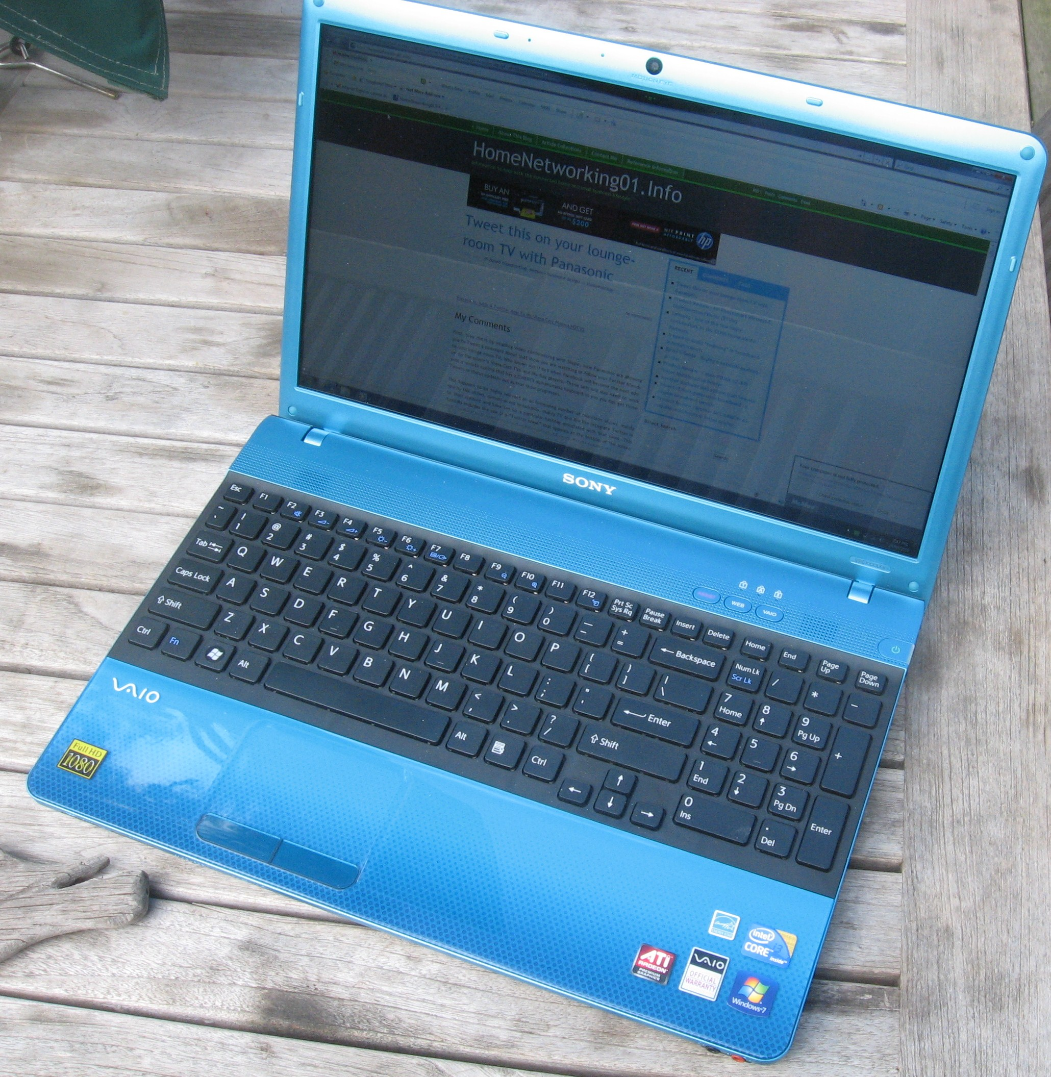 Sony VAIO E-Series laptop