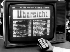 Teletext display at IFA 1979