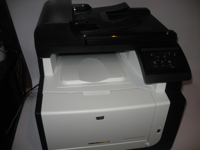 HP LaserJet Pro CM1415 Color Multifunction Printer PCL6 Print Driver