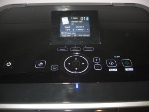 Canon PIXMA MG-6150 Multifunction Printer - Display close-up