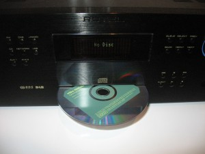 Rotel RCX-1500 CD receiver - slot-load CD player