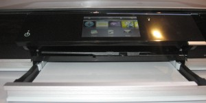 HP Envy 100 all-in-one printer - paper output