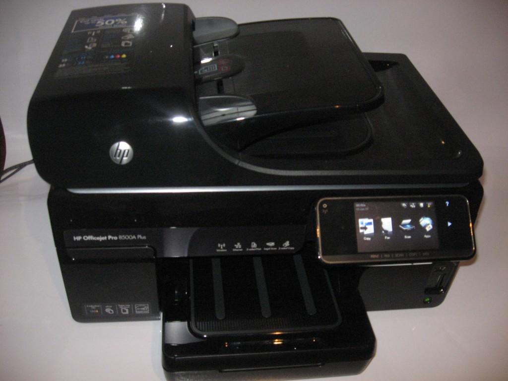 HP OfficeJet Pro 8500a Plus multifunction inkjet printer