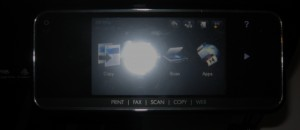 HP OfficeJet Pro 8500a Plus control panel