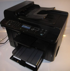 HP LaserJet M1536dnf monochrome laser multifunction printer