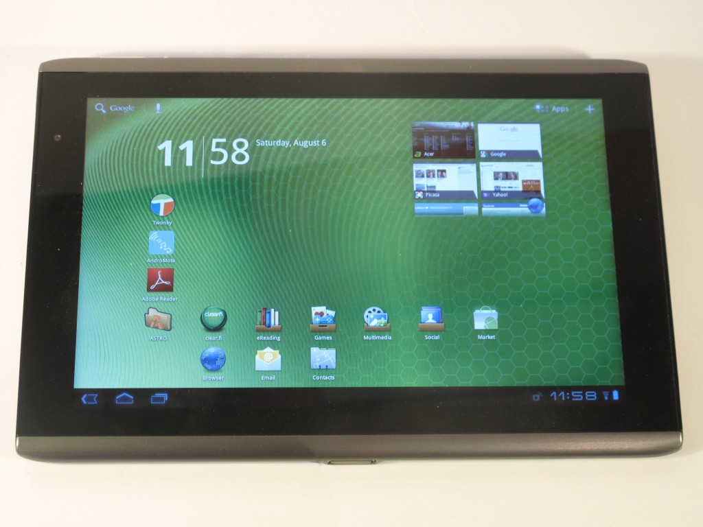 Acer Iconia Tab A500 tablet computer