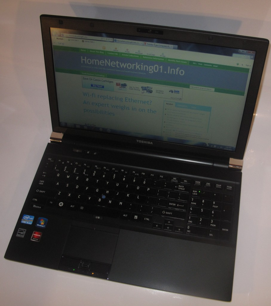 Toshiba Tecra R850 business laptop