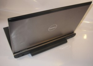 Dell Vostro 3550 business laptop rear view