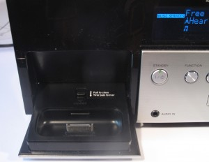 Sony CMT-MX750Ni Internet-enabled music system iPod dock