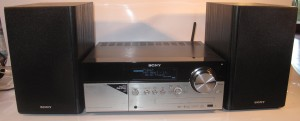 Sony CMT-MX750Ni Internet-enabled micro music system