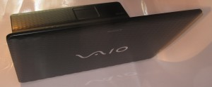 VAIO EJ Series back shot