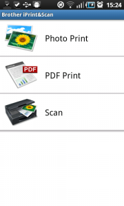 Brother iPrint&Scan mobile app