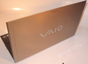 Sony VAIO Z Series lid view
