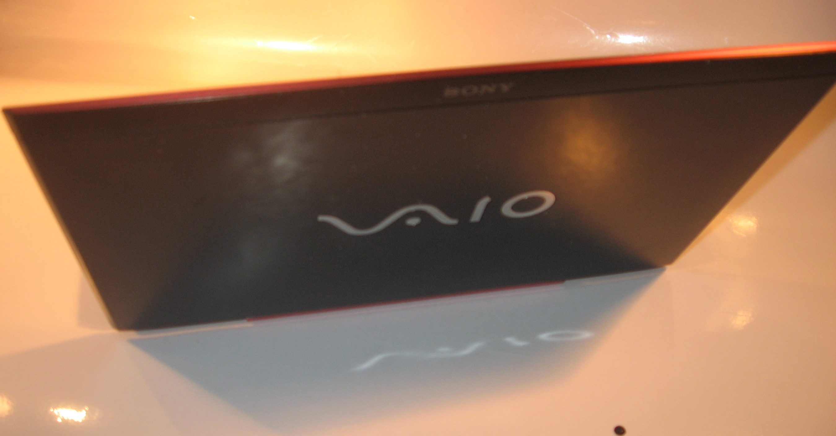Sony VAIO S Series lid view