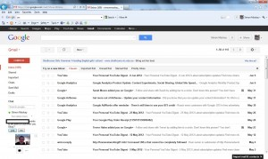 Webmail interface - GMail