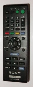 Sony BDP-S390 Blu-Ray player remote control