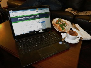 HP Envy 4 Sleekbook at Rendezvous Grand Hotel Melbourne