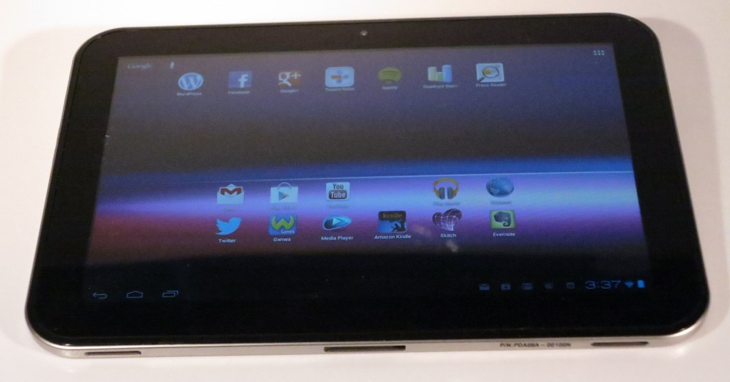 "Toshiba AT300 10"" Android tablet computer"