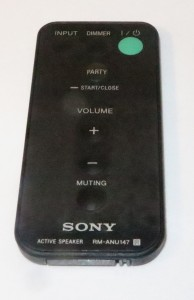 Sony wireless speakers remote control