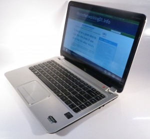 HP Envy 4 Touchsmart Ultrabook