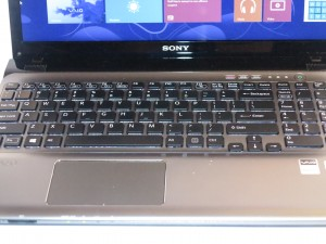 Sony VAIO E-Series mainstream laptop SVE-15129CG illuminated keyboard