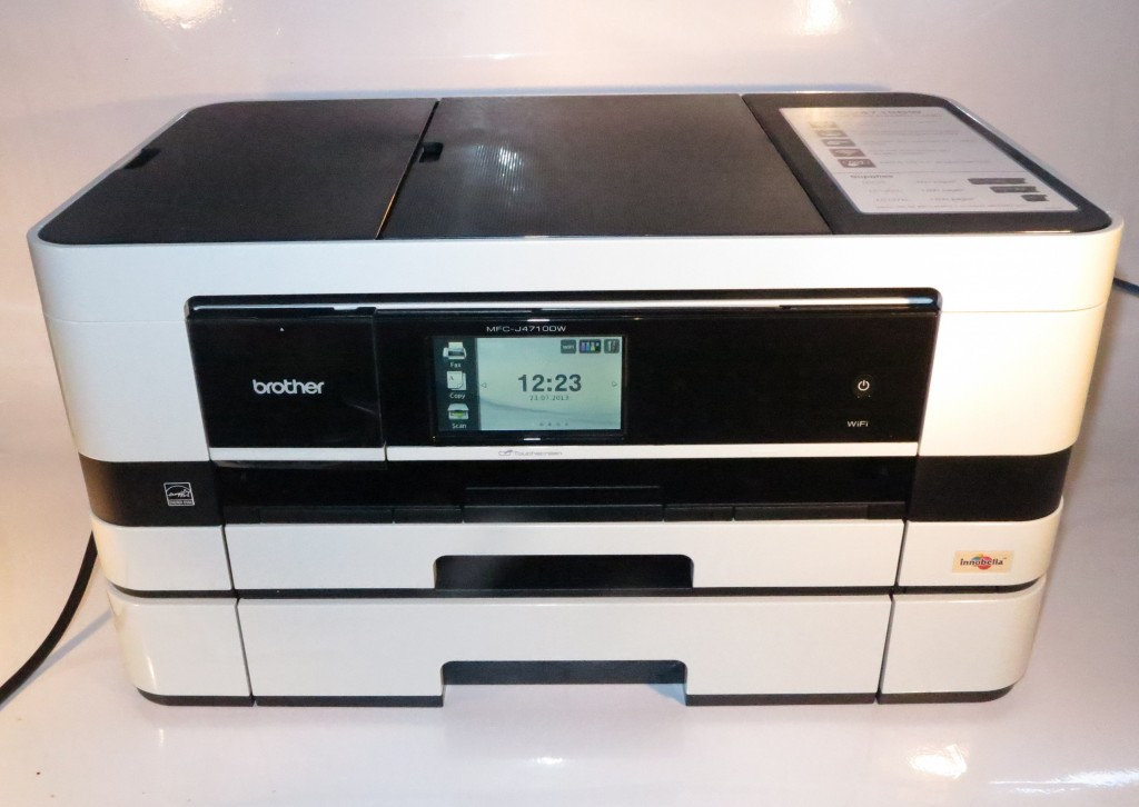 Brother MFC-J410DW sideways-print multifunction inkjet printer