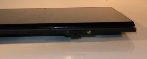 Sony VAIO Duo 11 slider-convertible tablet -Clothespeg-style Ethernet connector for wired networks