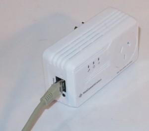 HomePlug AV adaptor