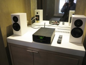 Naim UnitiQute 2 on dressing table