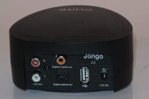 Pure Jongo A2 network audio adaptor connections