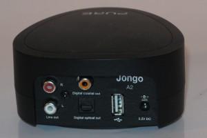 Pure Jongo A2 network audio adaptor connections