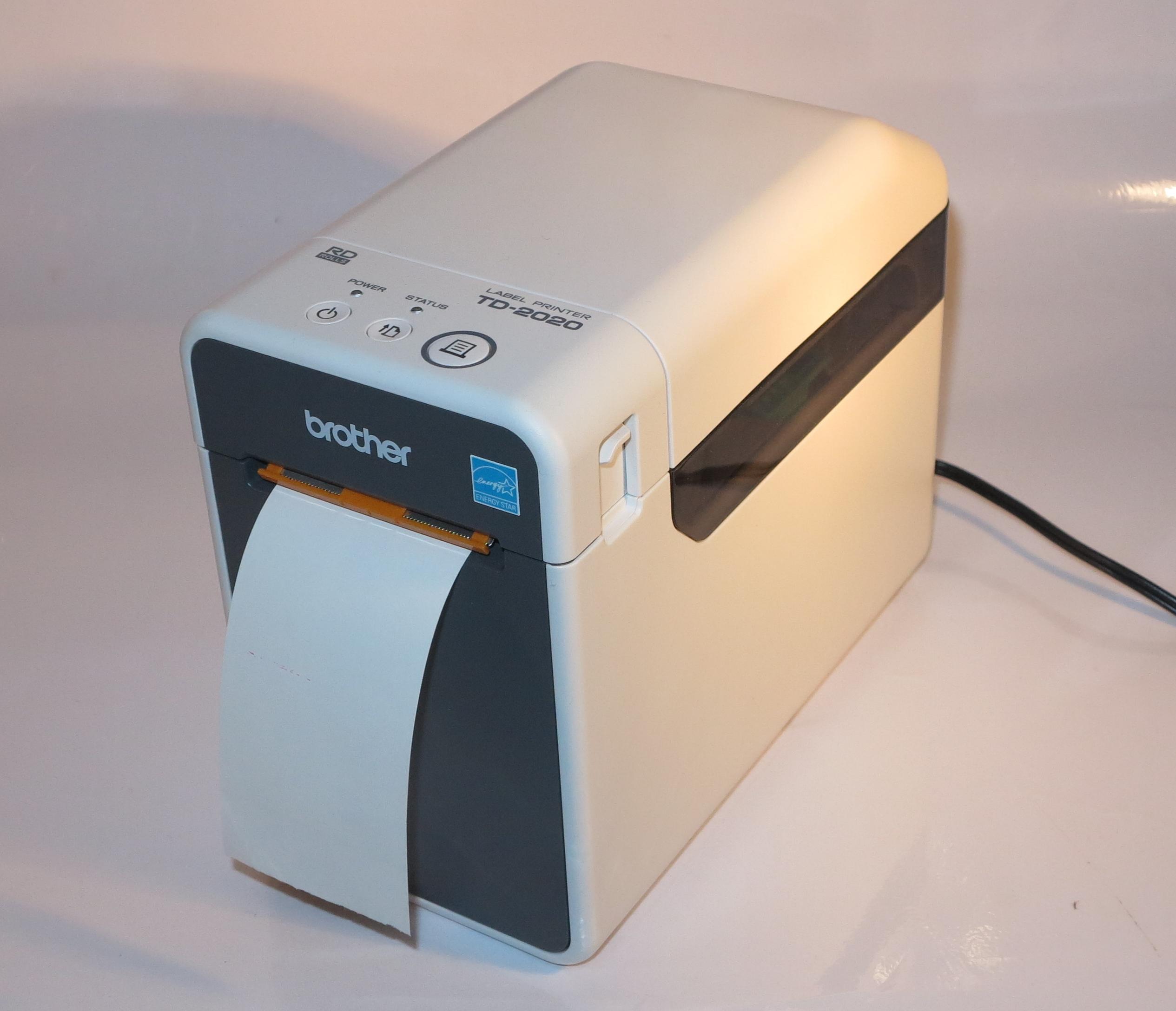 Brother TD-2020 label / receipt printer