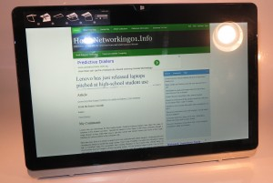 Sony VAIO Fit 13a convertible Ultrabook as an image viewer
