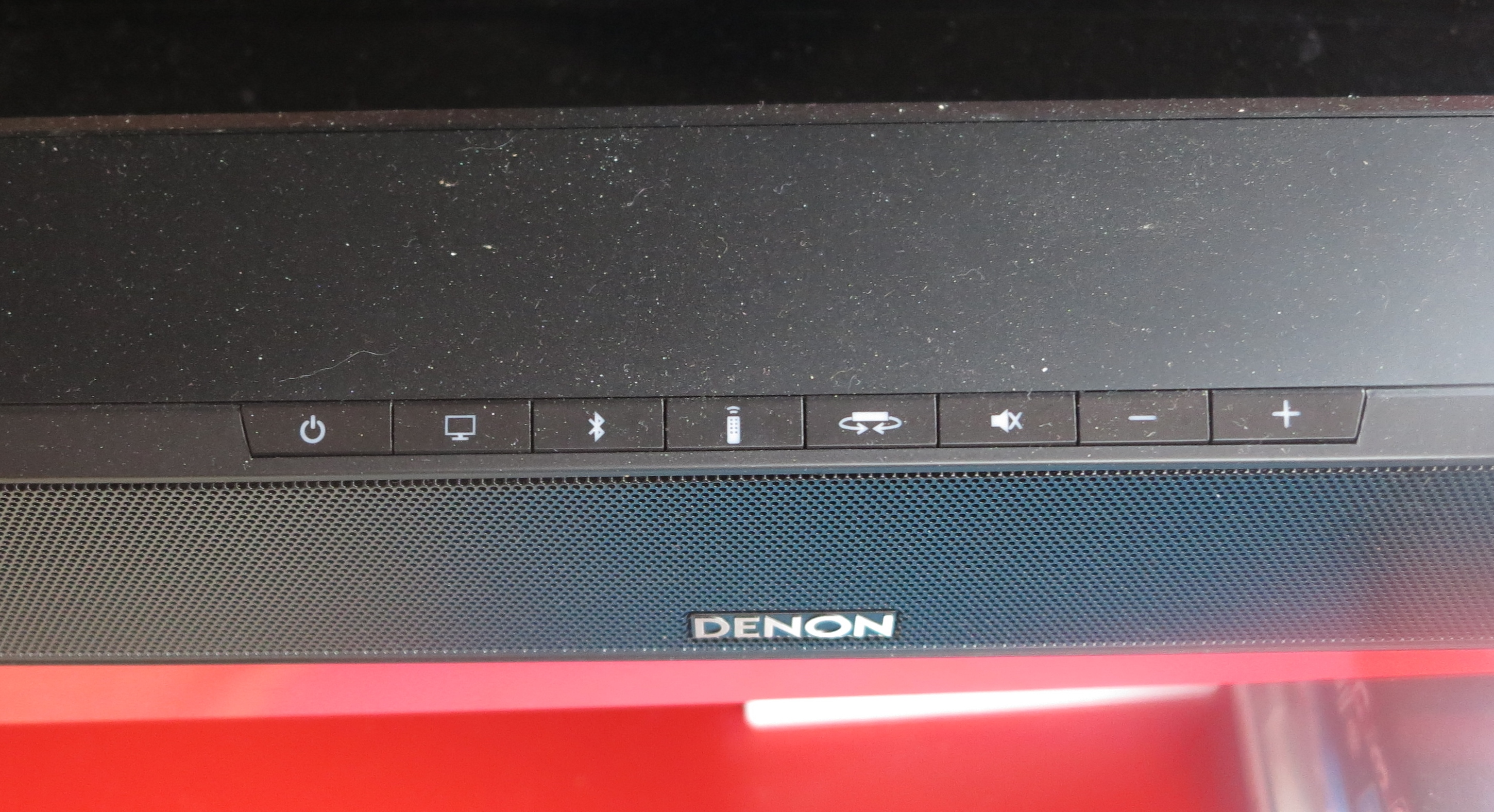 Denon DHT-S514 soundbar controls
