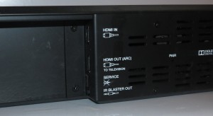 Denon DHT-S514 HDMI (input and output) and IR blaster connections
