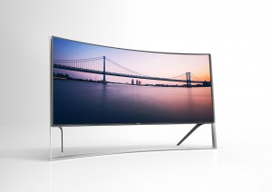 Samsung Curved OLED 4K UHDTV press picture courtesy of Samsung