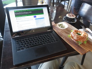 Lenovo Yoga 2 Pro convertible notebook at Phamish St Kilda
