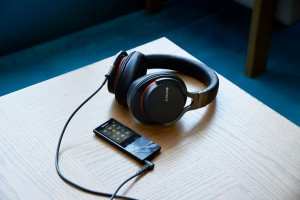 Sony MDR-1ADAC digital headphones with integrated DAC press image courtesy of Sony