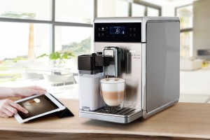 Saeco GranBaristo Avanti espresso machine press picture courtesy of Philips