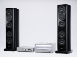 Technics R1 Reference hi-fi system press picture courtesy of Panasonic