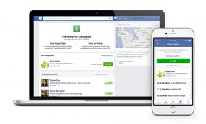 Facebook Safety Check dashboard screenshots (regular computer and mobile) courtesy Facebook
