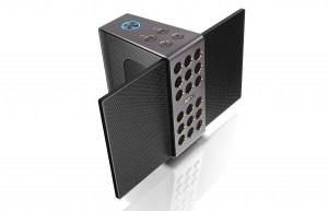 BenQ treVolo portable electrostatic speaker courtesy of BenQ