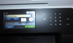 Brother MFC-L8850CDW colour laser multifunction printer user interface