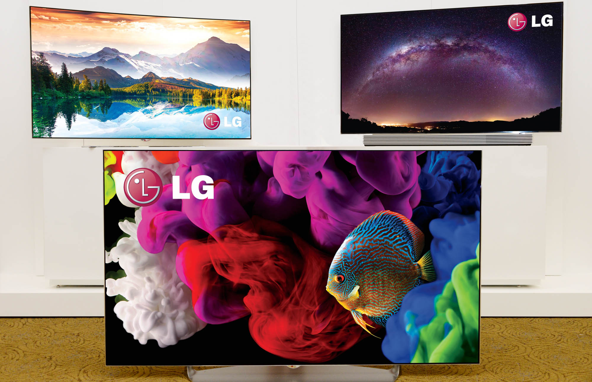 LG 4K OLED TVs press picture courtesy of LG America