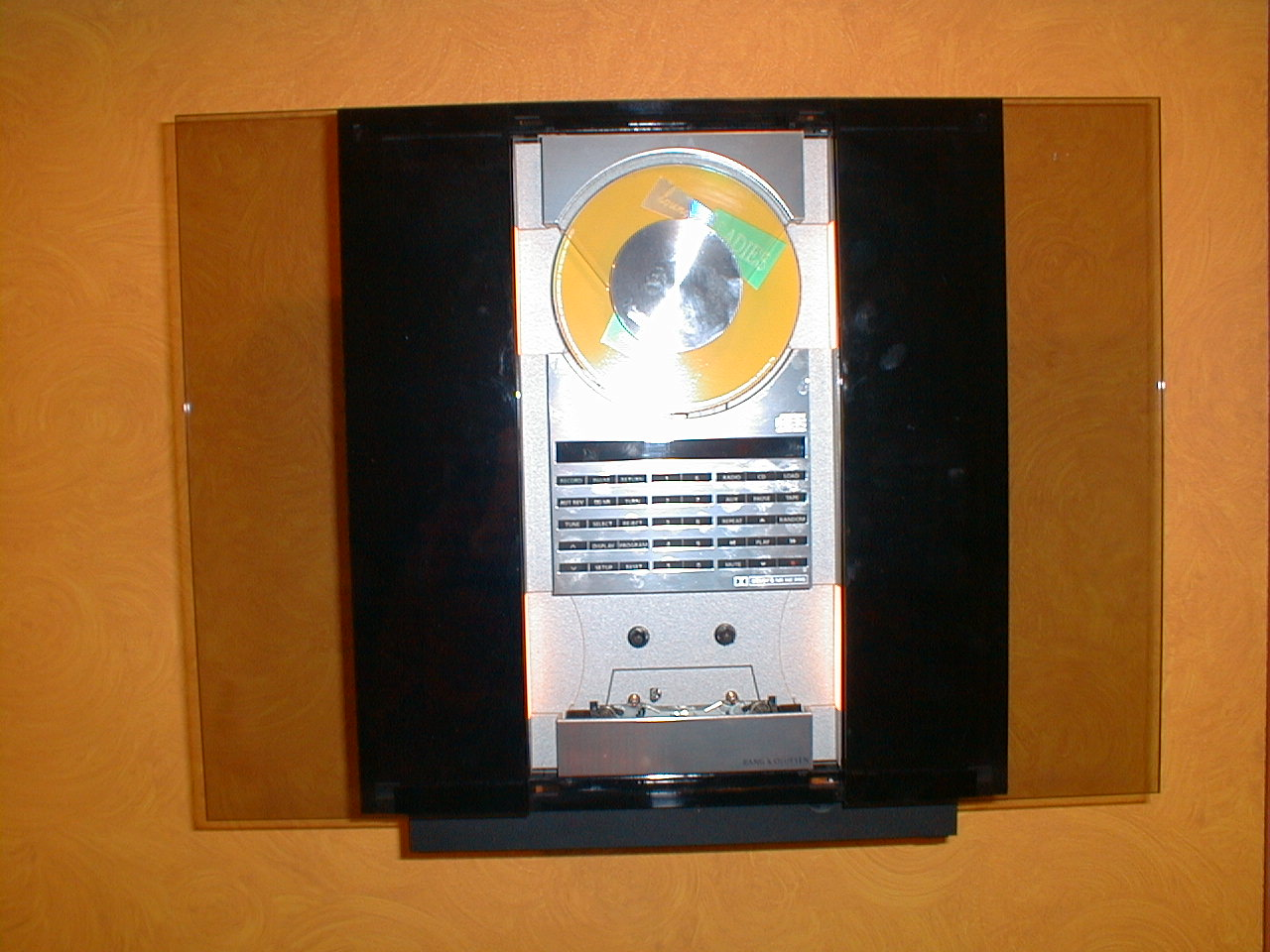 .. yet they can still be played on good sound systems like this one